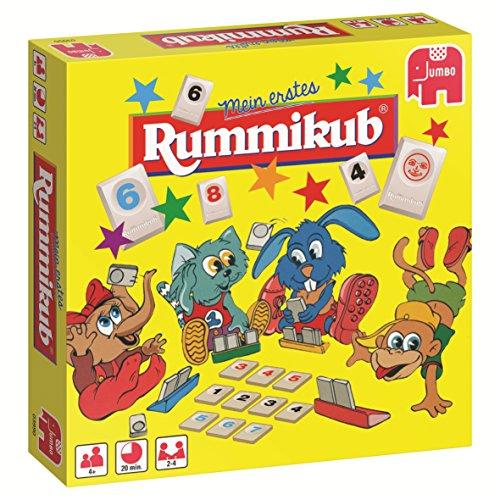Jumbo Spiele 03990 Original erstes Rummikub Kinderspiel, Gesellschaftsspiel, Ab 4 Jahren