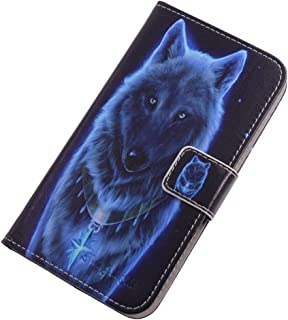 TienJueShi Wolf Fashion Stand TPU Silicone Book Stand Flip PU Leather Protector Phone Case For Infinix S5 Pro 6.53 inch Co...