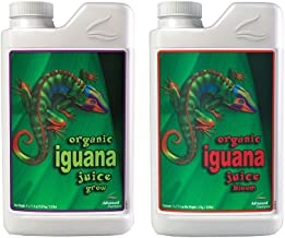 Iguana Juice Bloom/Grow Advanced Nutrients 1L Organic & Natural Plant Nutrition Bloom & Grow
