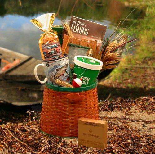 Fishing Gift Basket | Fisherman's Gift Basket -Medium