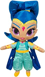 Sambro SHI-Y17-9144-2 Shimmer and Shine 3D Character Backpack, Multi-Colour