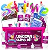 Unicoolbee Unicorn Slime Kit for Girls 57pcs -Slime Making Kit and Slime Supplies Kit -2 in 1- Unicorn Gifts for Girls… 1