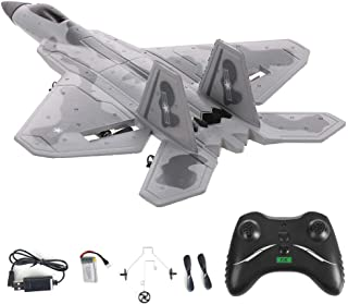 FX-822 RC Airplane Glider 2.4G 2CH RTF Stabilized F-16 Fighter Jet Simulator Foam Flying Aircraft Outdoor Gift Toys For Ki...