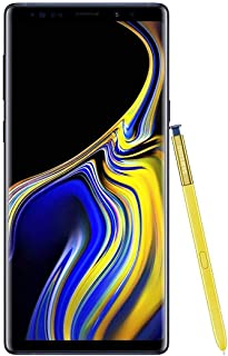 Samsung Galaxy Note 9 SM-N960F/DS 128GB/6GB 6.4? QHD+ sAMOLED Factory Unlocked GSM (No CDMA) - International Version (No Warranty in The USA) (Ocean Blue) - Ocean Blue