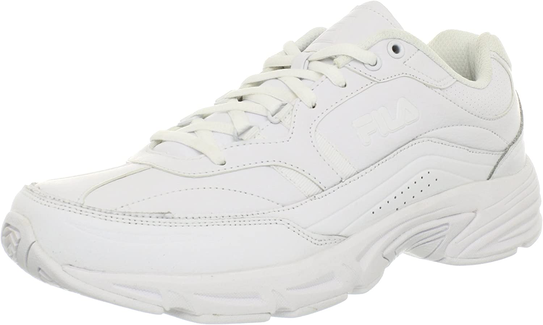 Fila Men's Memory Directly managed store Surprise price Workshift Shoe Resistant Work Slip
