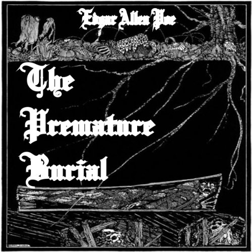 The Premature Burial audiobook cover art
