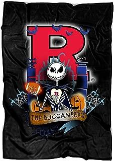 TOLETORE The Nightmare Before Christmas Soft Fleece Throw Blanket, Rutgers Scarlet Knights Fleece Luxury Blanket (Large Blanket (80