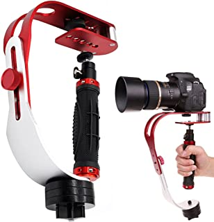 AFUNTA Pro Handheld Video DSLR Camera Stabilizer Steady Compatible GoPro Cannon Nikon Sony Camera Cam Camcorder DV Smartph...