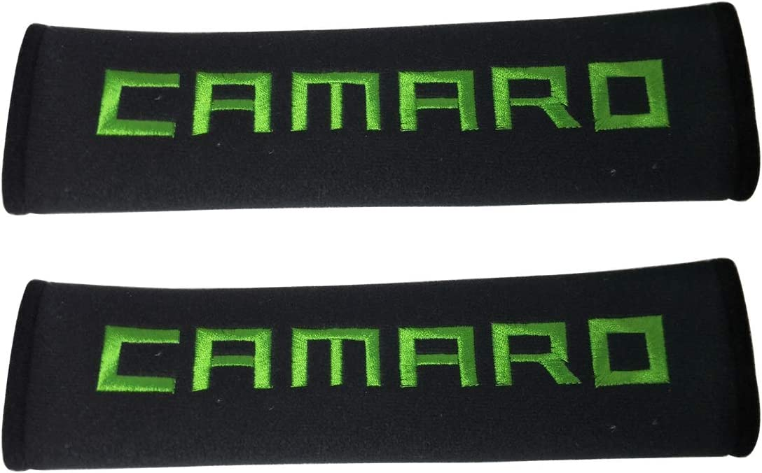 1 Pair New Green Stitching Auto Belt price Fabric Pad Free shipping on posting reviews Car Safety Seat