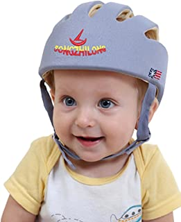 HI9 Infant Protective Hat Baby Toddler Safety Adjustable Helmet Cap Protection head for Walking Harnesses (Grey)