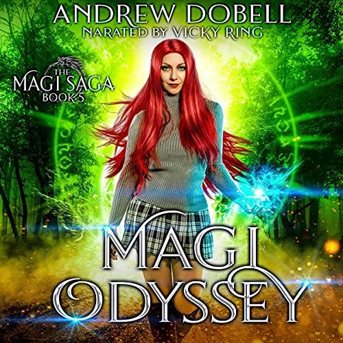 Magi Odyssey Audiobook By Andrew Dobell cover art