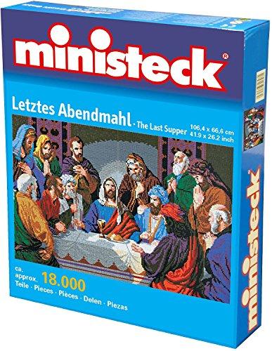 Ministeck 31457 - Letztes Abendmahl, Steckplatten, ca. 18000 Steine und Zubehör