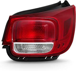 ACANII - For 2013-2015 Chevy Malibu [NON-LED] Rear Replacement Tail Light Outer - Passenger Side Only