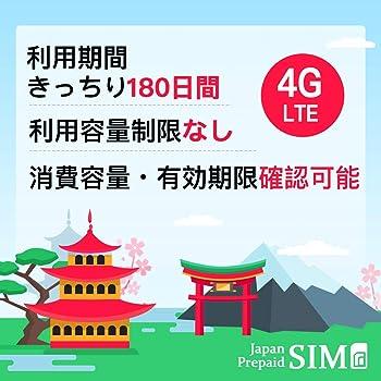 日本docomoプリペイドデータ専用SIM 長く使えば使うほど安くなるSIM 有効期限きっちり180日 更なる延長により無期限に 20GB+最大256Kbps 容量無制限 SIMピン付 リチャージによりGB単価160円台へ 4G/LTE対応