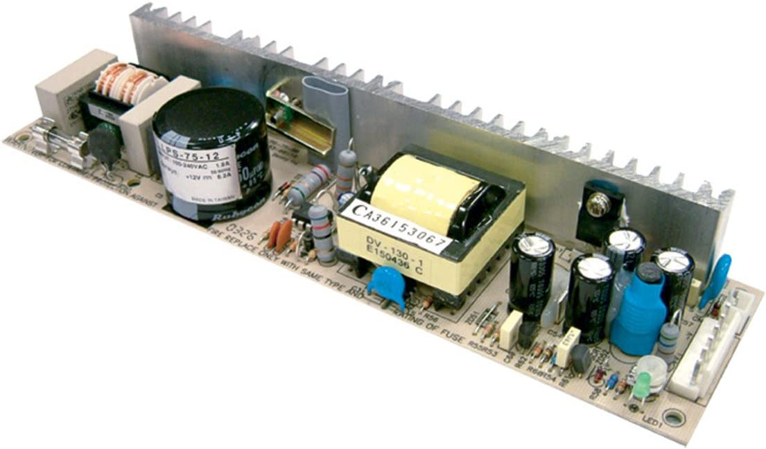 Mean Well Original LPS-75-12 Single Output Switching Power Supply 12V 6.2A 74W