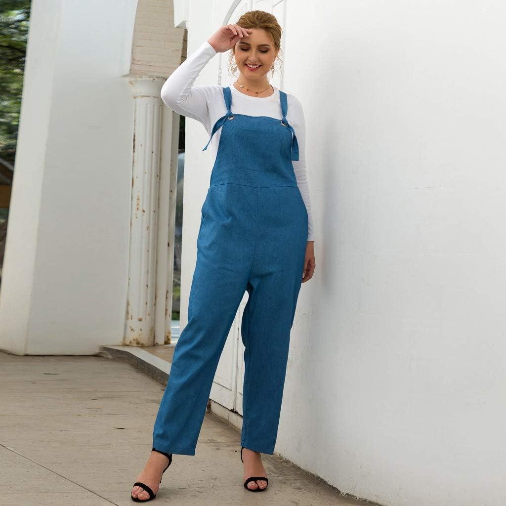Combishort Femmes Jeans Salopette Short Combinaison Ete Jeans Courte Short Pantalon en Denim Combinaison Combishort Jeans Casual Pants Slim Skinny