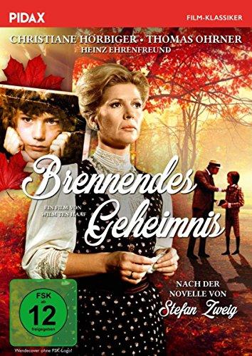 Brennendes Geheimnis / Hochwertige Literaturverfilmung des Romans von Stefan Zweig mit Christiane Hörbiger und Thomas Ohrner (Pidax Film-Klassiker)