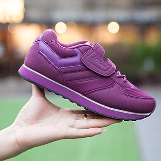 2a5cdce54345 shoe Scarpe Sportive di Mezza età e Anziane, Scarpe Casual Antiscivolo con  Fondo Morbido,