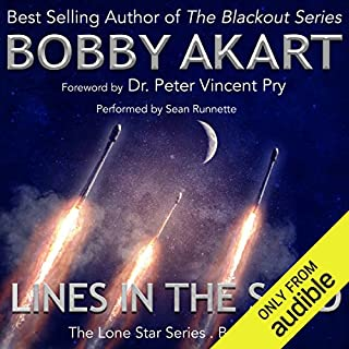 Lines in the Sand audiobook cover art