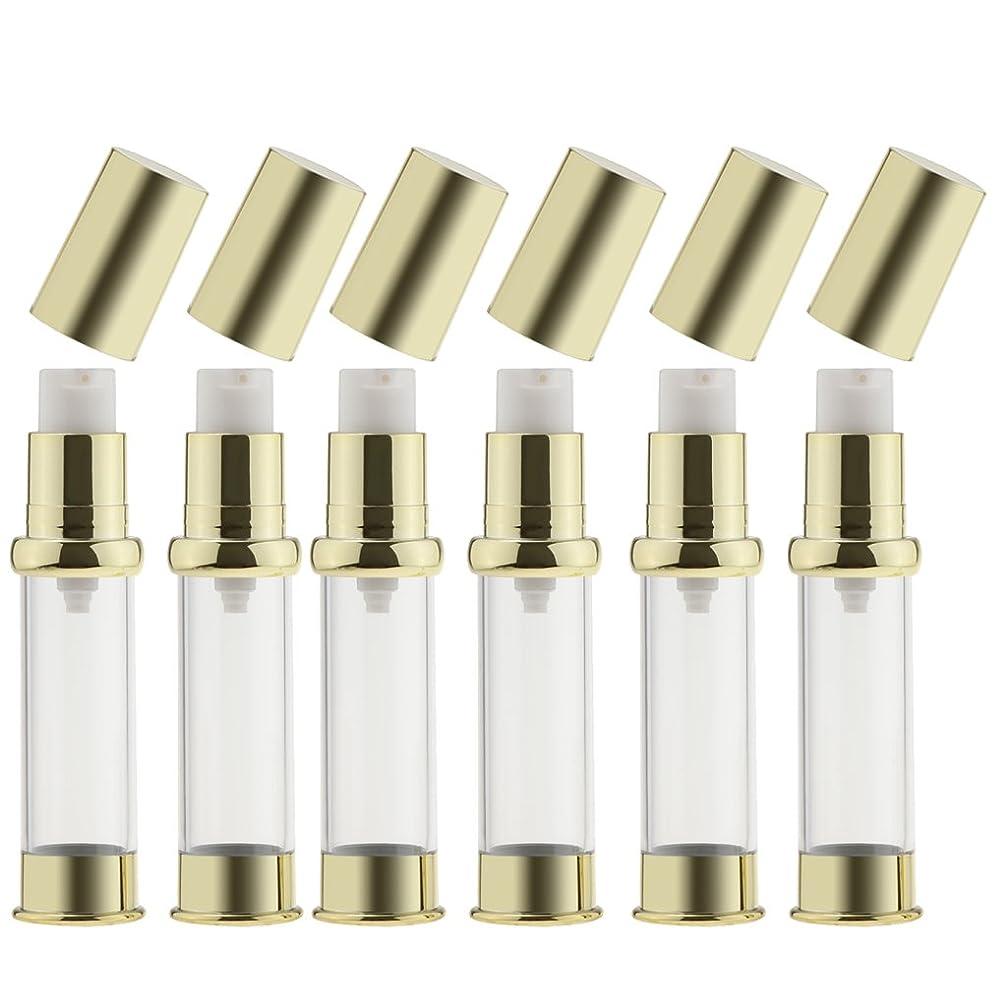 悩みテクニカル勘違いするKesoto 6個 真空スプレーボトル ミスト スプレーボトル エッセンシャルオイル 香水 全3サイズ - 10ミリリットル
