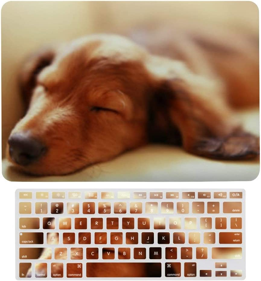 MacBook Air 13 Inch Case Beagle Puppy Dog Plastic Hard Protective Laptop Case Shell with Keyboard Cover A1369 /& A1466, Older Version 2010 2017 Release