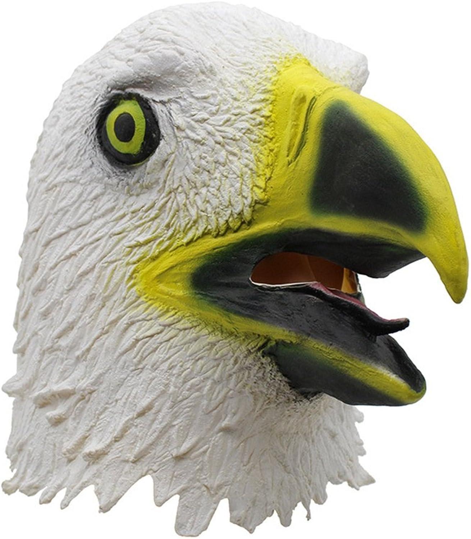 Fly Eagles Soar Raum Maske Weiß Eagles Tricky Realistische Furcht Erregenden Masken Bar COS Kappen Maske (Farbe   Weiß) B07H3QYLCF Lebensecht   Qualität