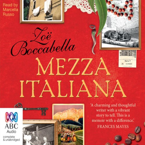 Mezza Italiana audiobook cover art