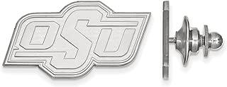 Lex & Lu LogoArt Sterling Silver Oklahoma State University Lapel Pin