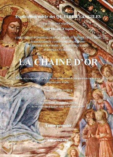 La chaîne d'or PDF Books