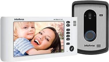 Campainha Vídeo porteiro intelbras IV 7010 HF HD Branco