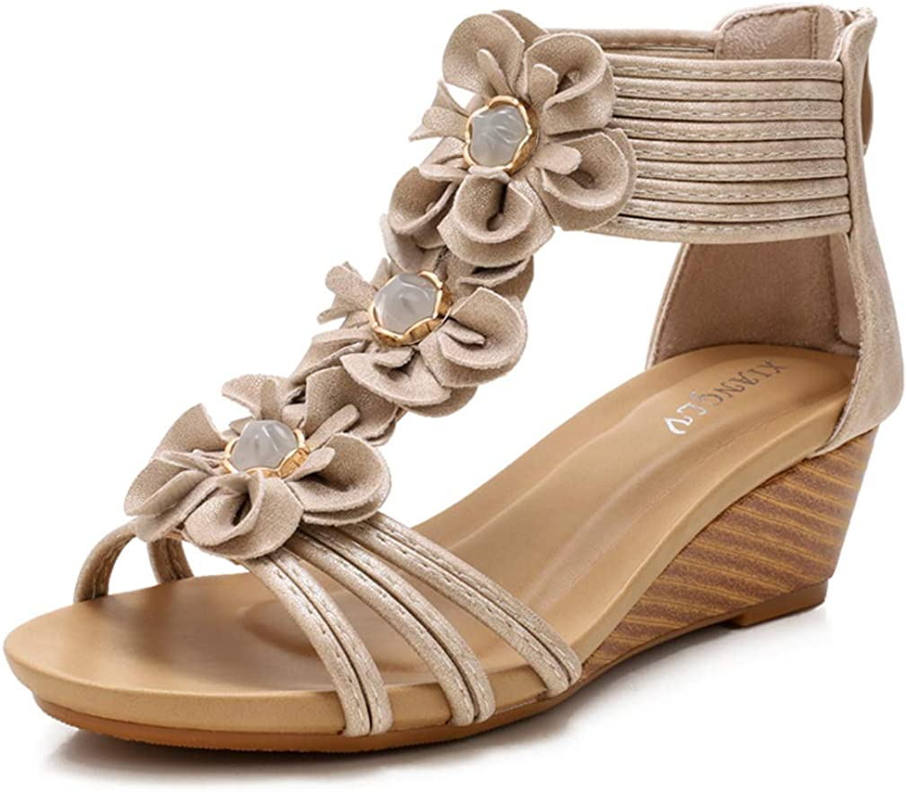 Catarry Women Roman Cross Band Strap Sandals Industry No. 1 Wedge Sale special price Ca Breathable
