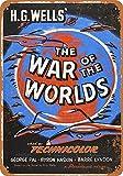 MiMiTee The War of The Worlds Movie Blechschild Vintage