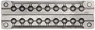 Adygil Round Sinker Mold with 9 Cavities and 1/4-Ounce