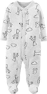 Carter's Baby Boys 1 Piece Snap Up Cotton Sleep and Play (Animal)
