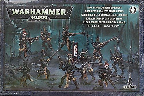 Games Workshop Warhammer Dark Eldar: Kabalite Warriors (2010)