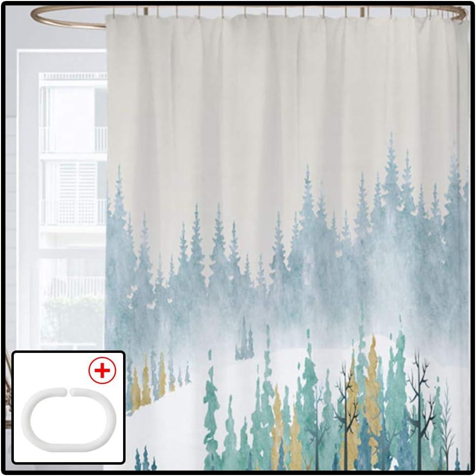 LUOTIANLANG San Francisco Mall Bath Curtain Encozy Foldable Max 44% OFF C Shower