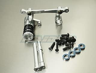 HPI SAVAGE 4.6 5.9 FLUX X XL Aluminum Alloy Steering Assembly Servo Saver Silver
