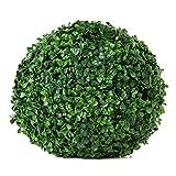 Esfera Decorativa Boj Común, Verde, 18 cm altura,...
