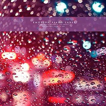 In the autumn night where the nostalgia permeates, the rain falls