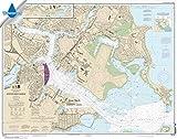 Paradise Cay Publications NOAA Chart 13272: Boston Inner Harbor 35.4 x 44.9 (Waterproof)