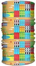 AllenPrint Mujeres Hombres Sombreros Pañuelos Envoltura Bufanda Pañuelo en la Cabeza, Banda para la Cabeza Que Absorbe el Sudor Bandana Cuba TNY Festival 2015 1200 Liner Head