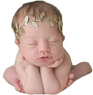 Miugle Baby Gold Leaves Headbands