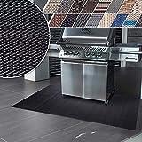 Floordirekt Grillschutzmatte   Schwer entflammbar   2 Größen   5 Designs   Grillmatten zum Grillen im Garten   Outdoor Matten für den Grill (180 x 180 cm, Padua)