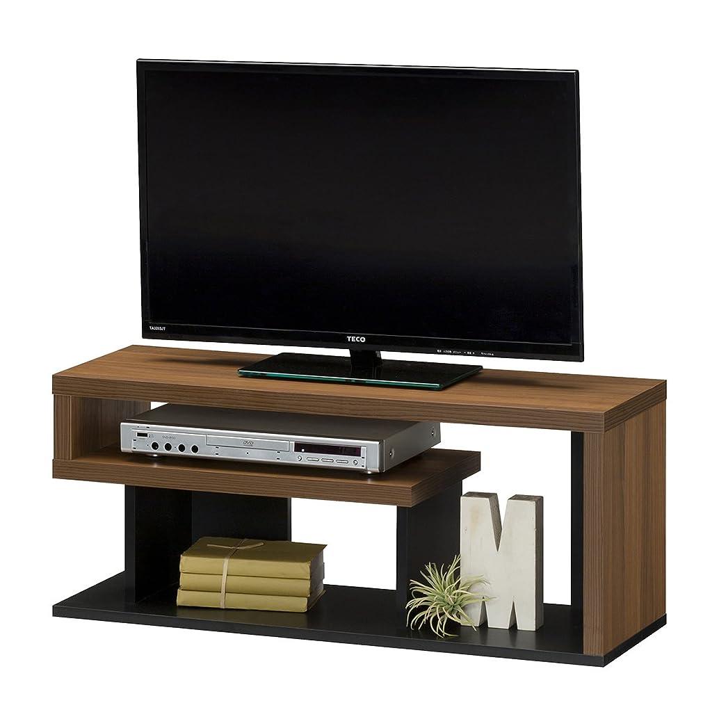 勝利した複数考えた白井産業 テレビ 台 約 幅90 奥行30 高さ38 cm  32型 対応 テレビボード ブラウン (VRD-4090 DK ヴォルデバ)