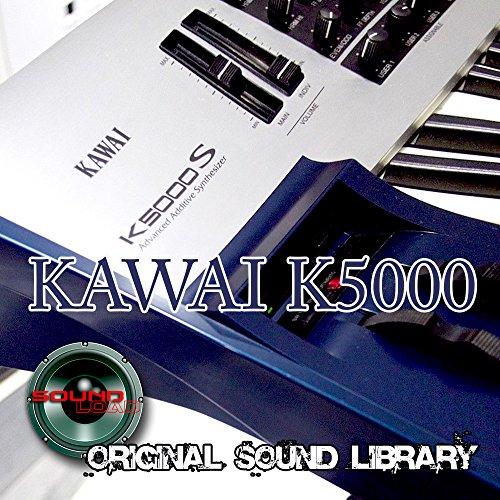 KAWAI K5000 Workstation - THE best sound of Kraftwerk - Large unique original 24bit WAVE/Kontakt Multi-Layer Samples/Loops Library on DVD or download;
