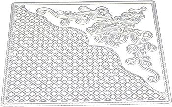 Cutting Dies,IHGTZS Father's Day DIY Photo Album Metal Die-Cut Stencils For Scrapbooking Paper Card Gift for father DIY Scrapbooking Album Stencils New Flower Heart Metal Die-Cut Paper Card
