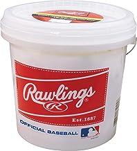 Rawlings Official League Recreational Grade OLB3/R8U Baseballs, Bucket of 24 Balls, OLB3BUCK24