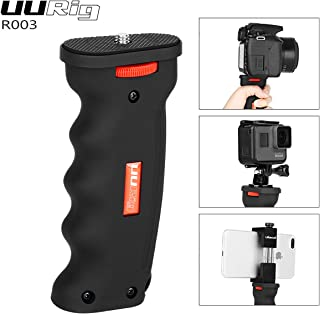 UURig R003 Universal Handheld Pistol Grip Camera Handle Grip Mount Holder Selfie Stick for iPhone X GoPro Hero 6/5 DSLR Cameras