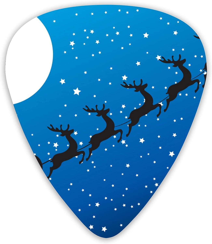 Santa Stars Sale Selling SALE% OFF Moon Guitar Pick Luxury Cool Pic Picks