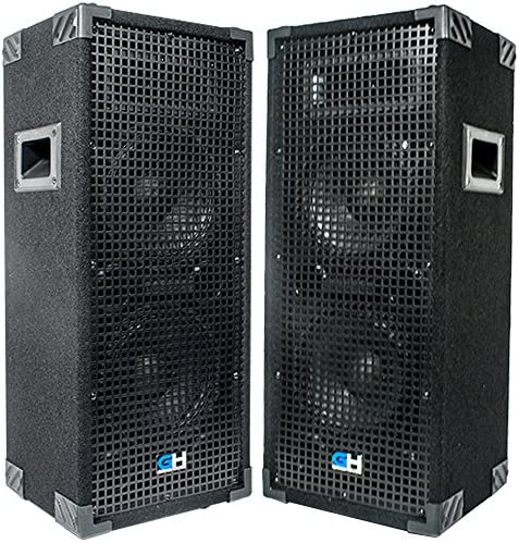 Grindhouse Speakers GH28L Pair Pair of Passive Dual 8 Inch 2 Way PA DJ Loudspeaker Cabinets product image